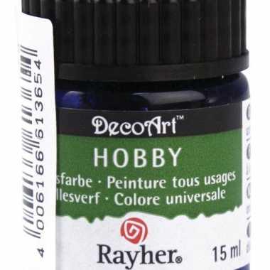 Hobby acrylverf blauw ml