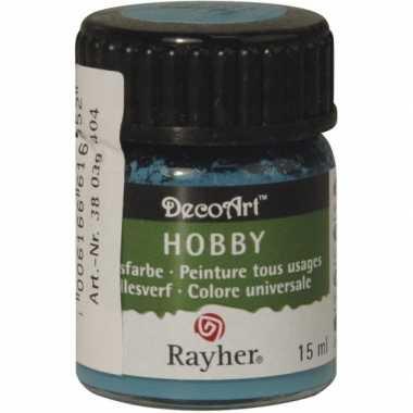 Hobby acrylverf turquoise ml