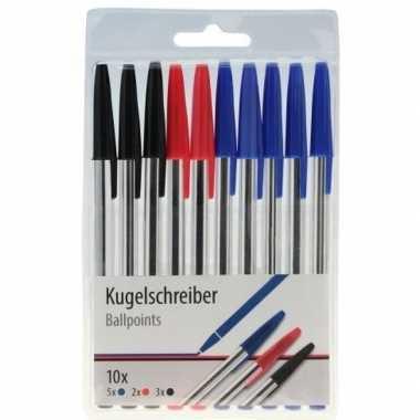 Hobby balpennen set stuks