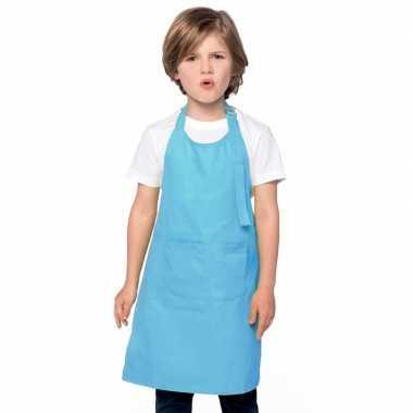 Hobby basic kinderschort aqua blauw