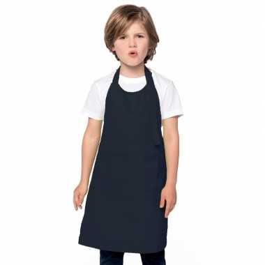 Hobby basic kinderschort donkerblauw