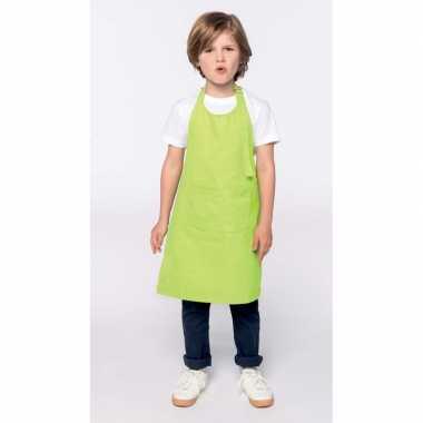 Hobby basic kinderschort lime groen