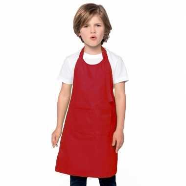 Hobby basic kinderschort rood