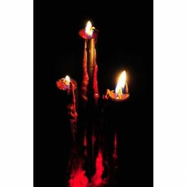 Hobby bloederige kaarsen