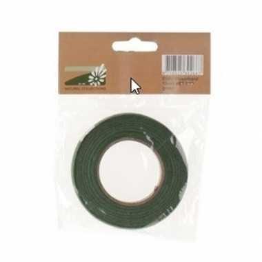 Hobby bloemband/bloementape groen , breed