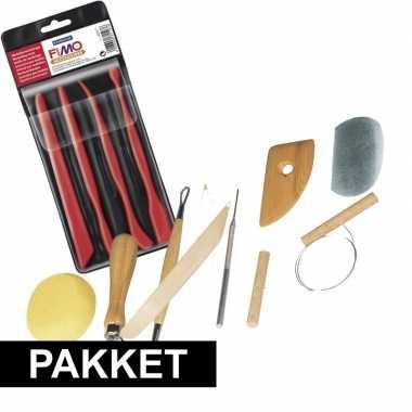 Hobby boetseerklei gereedschap pakket