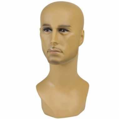 Hobby display hoofd halfbloed man