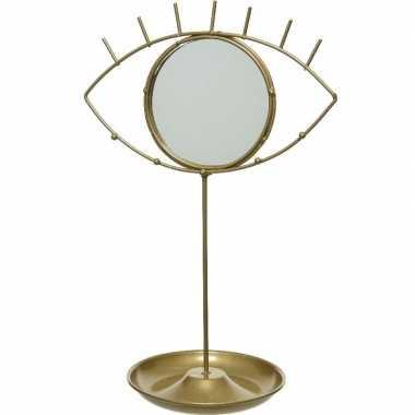 Hobby goud sieradenrek oog spiegel