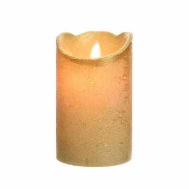 Hobby gouden led kaars flakkerend 10097875