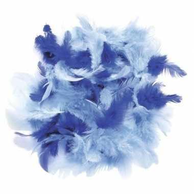 Hobby gram decoratie sierveren blauw tinten