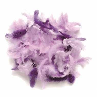 Hobby gram decoratie sierveren paars tinten