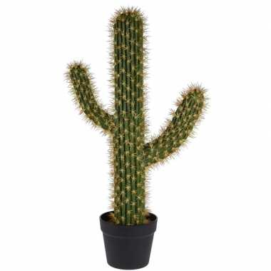 Hobby groene kunstplant cactus saguaro