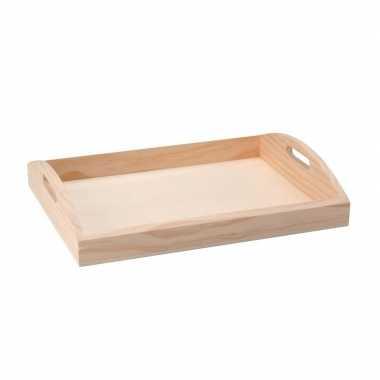 Hobby houten dienblad