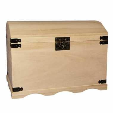 Hobby houten kist ,