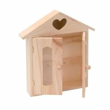 Hobby houten sleutelkastje , ,