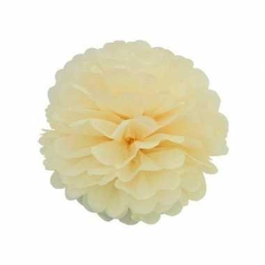 Hobby ivoor decoratie pompom