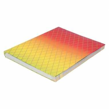 Hobby kaftpapier regenboog kleuren