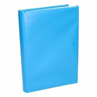 Hobby kaftpapier schoolboeken blauw