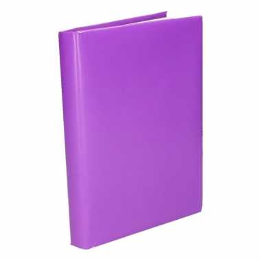 Hobby kaftpapier schoolboeken paars