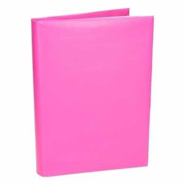 Hobby kaftpapier schoolboeken roze