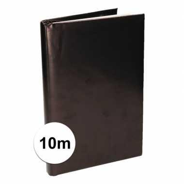 Hobby kaftpapier schoolboeken zwart meter