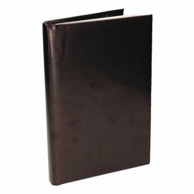 Hobby kaftpapier schoolboeken zwart