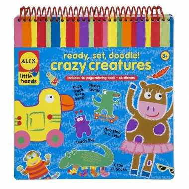 Hobby kleurboek wasco krijtjes