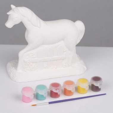 Hobby knutsel set paard schilderen type 10084385