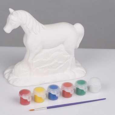 Hobby knutsel set paard schilderen type