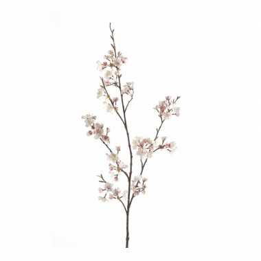 Hobby kunstbloem kersen bloesem tak roze