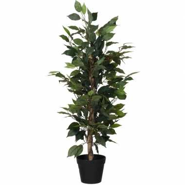 Hobby kunstplant ficus groen