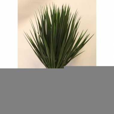 Hobby kunstplant yucca rostrata palmlelie witte pot