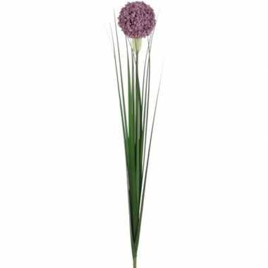 Hobby lila paarse allium/sierui kunstbloem