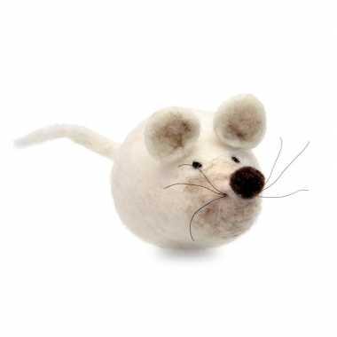 Hobby maak je eigen muis vilt pakket