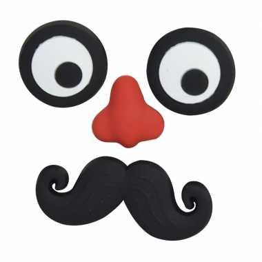 Hobby magneten setje stuks ogen neus snor