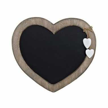 Hobby memo krijtbord hart vorm