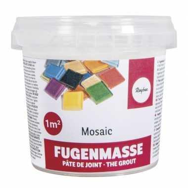 Hobby mozaiek voegmiddel wit gram