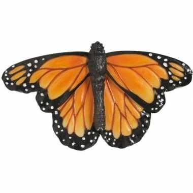 Hobby oranje monarch vlinder dieren magneet