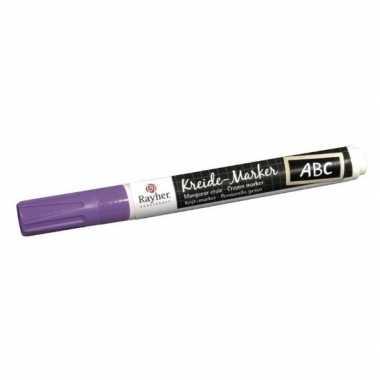 Hobby paarse raamstift waterbasis