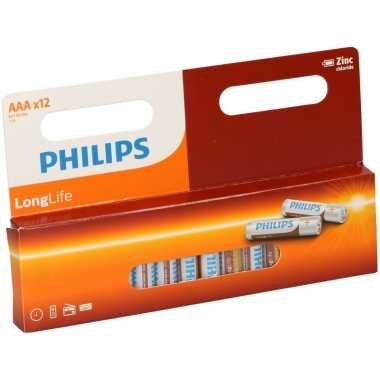 Hobby pakket philips long life aaa batterijen 10069263