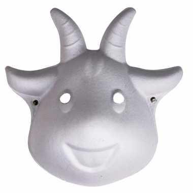 Hobby papier mache geiten masker