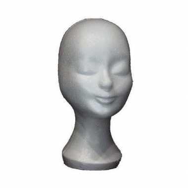 Hobby piepschuim hoofd pruikenstandaard