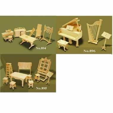 Hobby poppenhuis meubels hobby