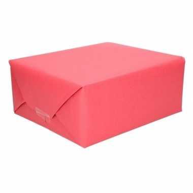 Hobby schoolboeken kaftpapier rood rol