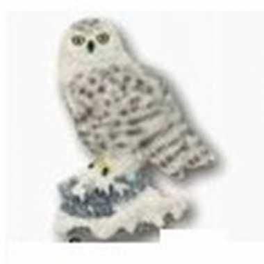 Hobby sneeuwuil dieren magneet