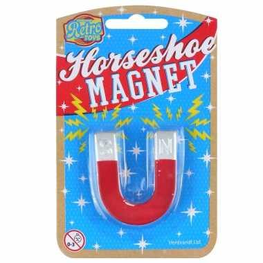 Hobby speelgoed magneten vorm een hoefijzer