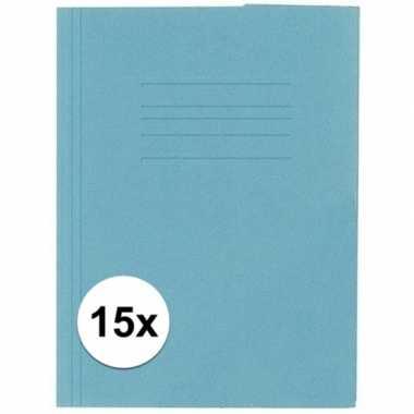 Hobby stuks kangaro dossiermap blauw