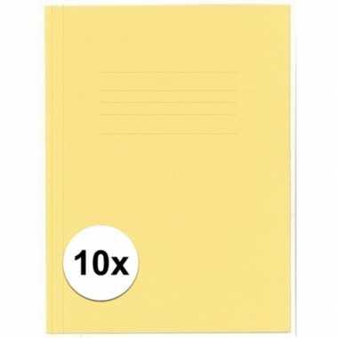 Hobby stuks kangaro dossiermap geel