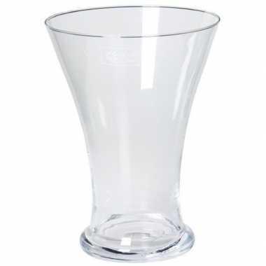 Hobby taps uitlopende vaas glas