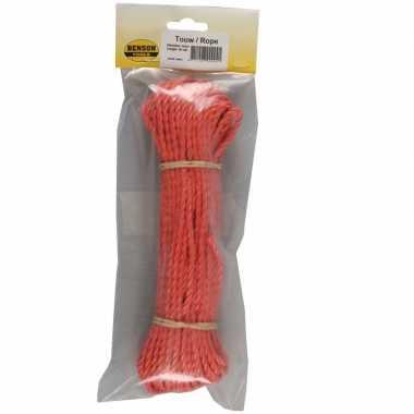 Hobby touw streng oranje meter